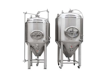 China Mirror Polish 10BBL Conical Beer Fermenter factory