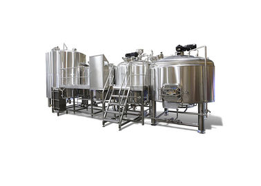 China Customized 4 Vessel Brewhouse Stainless Steel Material 316 For Various Beer Brewery distributor