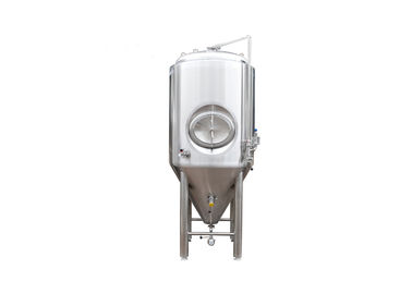 China 15BBL Customized Conical Beer Fermenter SS304 Brewery With Dimple Plate Jacket factory