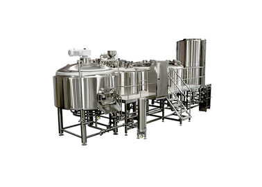 China Customized Beer Fermentation Equipment / 25BBL Brewing System Four Vessel For Brewing distributor