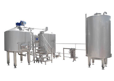China 8HL Small Beer Brewery Equipment / Electric Brewery Semi Automatic Control factory