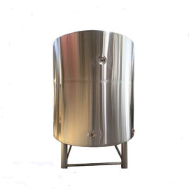 China 30BBL 304 Stainless Steel Mirror Polish Cold Liquor Tank For Brewing Systerm With Tri-clamp factory