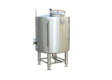 China 60BBL Capacity Cold Liquor Tank Dimple Plate Jacket In Beer Production CE / ISO distributor