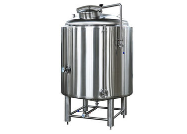 China 1000 Liter Cold Liquor Tank Fabrication SS304 With 2MM Thickness Dimple Plate Jacket factory