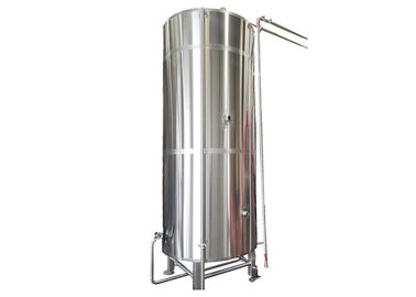 China SS316 Fabrication Cold Liquor Tank 8000L Capacity Top Manhole For Cooling Wort factory