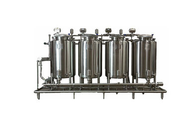 China Semi Automatic SS316 CIP Cleaning System For Beer Brewing Process CE Certification factory
