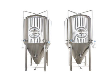 China 1200L Conical Beer Fermenter Fabrication SS304 Automated Beer Brewing System factory