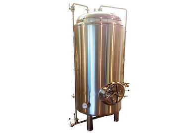 China Fabricateion SS304 Bright Beer Tank 50BBL Mirror Polished Interior Shell ISO / CE distributor