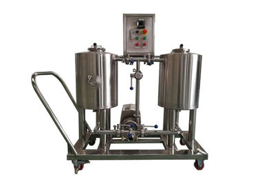 China 150L Beer Brewing Equipment Semi - Auto Control SUS316 Electric Heating CE Approved distributor