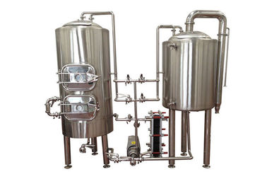 China Manual Control Pilot Beer Brewing System Stainless Steel SUS304 Electric Heating distributor