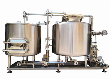 China 300L Home Pub Equipment / Beer Fermentation Tanks SUS304 With Semi Auto Controlling factory