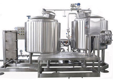 China Semi Auto Control 7BBL Pub Brewing Systems SUS304 Steam Heating For Pub / Restaurant distributor