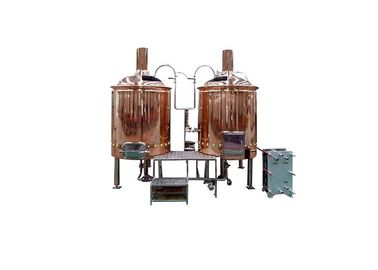 China 220V Customized Pub Brewing Systems 1500L Steam Heating 2.00MM Thickness SS316 distributor