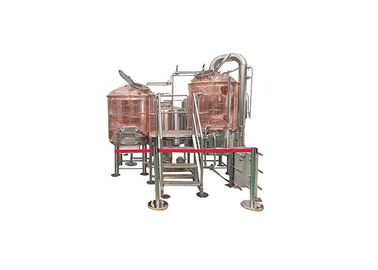 China 5BBL Mirror Polished Pub Brewing Systems 100% TIG Welding / Tri Clamp Connection distributor