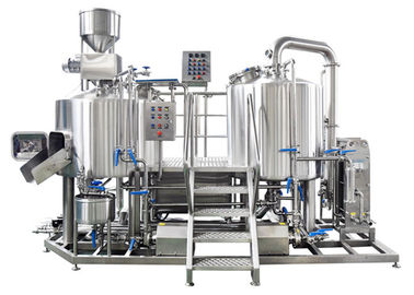 China PLC Control Small Brewery Equipment 3BBL Stainless Steel SUS304 Electric Heating distributor