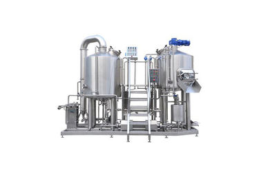 China Custimized Small Brewery Equipment 1500L PLC Control With Electric Heating factory