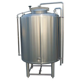 China 2000L Stainless 304 Cold Liquor Tank Dimple Plate Jacket For Brewing System distributor
