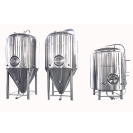 China Stainless Steel Conical Fermentation Tank , Mirror Polish Beer Fermentation Tank distributor