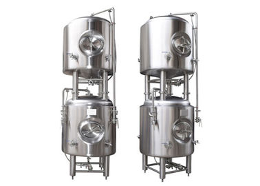 China 500 L Vertical 304 Stainless Steel Bright Beer Tank , Beer Serving Tanks factory