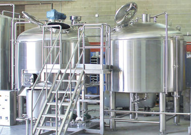 China 100L 300L 800L Capacity 2 Vessel Brewhouse Heated Mash Tun / Lauter Tun distributor