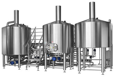 China 300L European Style Pub Restaurant 2 Vessel Brewhouse Craft Beer Brewing distributor