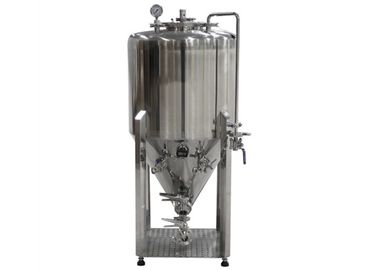 China Customized Power Pressure Cylindrical Conical Fermenter Fermentation Tank distributor