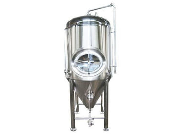 China Jacketed Conical Pressure Beer Brewing Kit Brewery Fermentation Unitank distributor