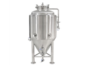 China Stainless Steel Conical Beer Fermenter In Beverage Processing Machinery distributor