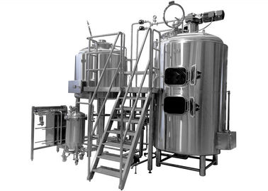 China 500L Brewing Equipment Stainless Steel Fermentation Tank Steam Jacket Brew Kettle distributor
